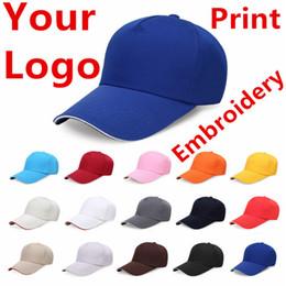 $enCountryForm.capitalKeyWord Australia - Factory Price! Free Custom LOGO Design Cheap Men Women Baseball Cap Embroidery Print Design Logo Text Photo Hat Gorras Snapback