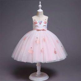 European Princess Clothes Australia - European and American children's clothing 2019 Halloween flower girl dress girl lace princess dress child skirt explosion