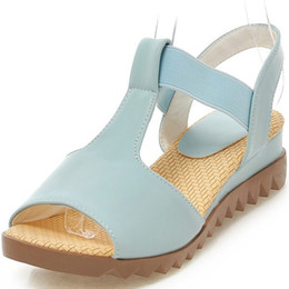 Medium Degree NZ - Fairy2019 Sandals Candy Color Small Fresh Women's Shoes Slope With One Font Toe Degree Of Tightness Dawdler Shoe M65