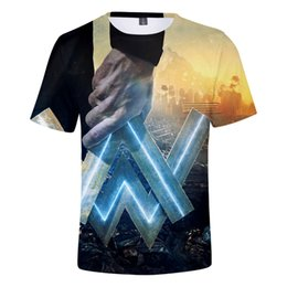 f87ec7c0c DJ Alan Walker Music Fans 3D T-shirt Hot Sale Hiphop Print Alan Walker  Leisure Short Sleeve Confortable 3D Summer Cool T-shirts