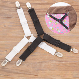 sheet fabric wholesale Australia - hang hook household product per set Triangle Bed Sheet Mattress Holder Fastener Grippers Clips Suspender Straps
