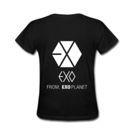 $enCountryForm.capitalKeyWord UK - EXO From Exo Planet New MEN'S T-SHIRT TEE SIZE S to 3XL Cheap wholesale tees100% Cotton For ManT shirt printing