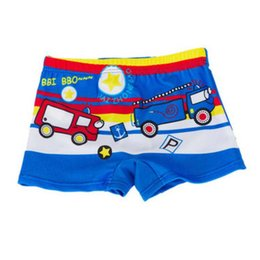 $enCountryForm.capitalKeyWord Australia - Baby Boy Swimming Trunks Print Cartoon Bathing Suit Children Swim Shorts Kids Toddler Beach Swimwear Pool Shorts