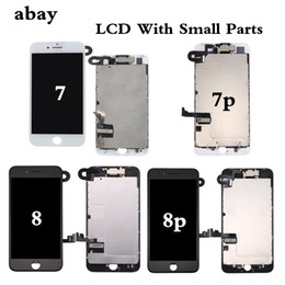 Iphone Display Home Button Australia - New Complete LCD For iphone 7 7 Plus 8 8 Plus LCD Display Full Assembly With Touch Screen With Front Camera Without Home Button