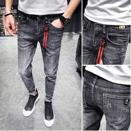 6206a5b4c Men Hip Hop New Fashion Trends Canada - Spring New Skinny Jeans Men Fashion  Washed Retro