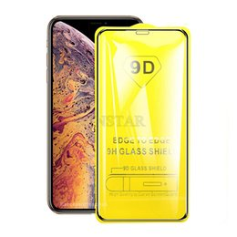 Cheap Tempered Glass Screen Protector Australia - For iPhone XS Max XR X 7 8 Plus Samsung J2 Core J4 J6 J7 Star J8 2018 9D Premium Cheap Tempered Glass Film Screen Protector Full Edge Curved