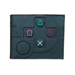 $enCountryForm.capitalKeyWord Australia - Hot 3d Designs Games Purse Anime Cartoon Playstation Pvc Wallets For Students Boy Girl Money Coin Holder Short Wallet