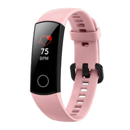 vehicle trackers UK - Original Huawei Honor Band 4 Smart Bracelet Heart Rate Monitor Smart Watch Sporting Tracker Health Wristwatch For Android iPhone iOS Watch
