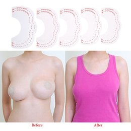 b74889fdf 1set  10pcs Hot Breast Lift Tape Invisible Instant Enhancer Push Up Bare  Lift Adhesive Bra Accessories Breast Enhance Tape