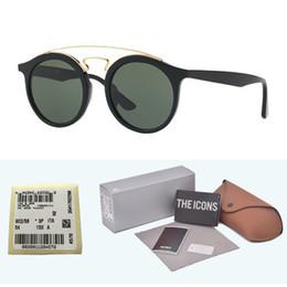 $enCountryForm.capitalKeyWord Australia - High quality (Glass Lens) Brand designer Classic Cat Eye Sunglasses Men Women UV400 Sport Vintage Sun glasses With Retail cases and label