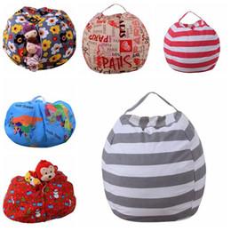 $enCountryForm.capitalKeyWord UK - Kids Storage Bean Bags Plush Toys Beanbag Chair Bedroom Stuffed Animal Room Mats Portable Clothes Storage Bag 10pcs