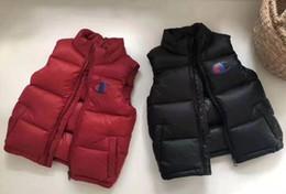 $enCountryForm.capitalKeyWord NZ - Brand Winter Children Waistcoat Boys Girls Thick Vest Coat Stand Collar Solid Warm Sleeveless Jacket coat SIZE 110-170