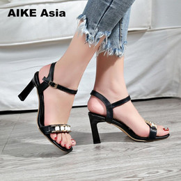 afec2d98ed3 2019 Dress 2018 Shoes Woman String Bead High-heeled Crystal Ankle Strap  Female Fashion Sexy With Sandals Summer Women Pumps Zapatos Mujer