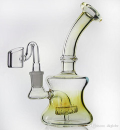 $enCountryForm.capitalKeyWord NZ - mixed style glass recycler oil rigs glass bong water pipe Fab egg bongs with glass banger nail and bowl 14.4mm joint