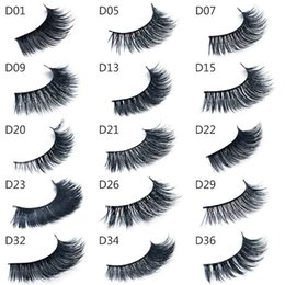 $enCountryForm.capitalKeyWord NZ - Top quality 3d Mink lashes Thick real mink HAIR false eyelashes natural for Beauty Makeup Extension fake Eyelashes false lashes 15 Models
