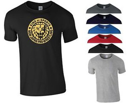 Pro Tees Australia - New Japan Pro Wrestling T Shirt Bullet Club MMA Boxing Gym NJPW Gold Men Tee Top