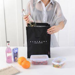 $enCountryForm.capitalKeyWord Australia - Daily Picnic Bag Portable Heat Preservation Bento Bag Hand Carried Lunch Box