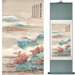 Chinese Floral Paintings Australia - Landscape Art Painting Super Quality Traditional Chinese Art Painting Home Office Decoration Chinese Painting1906101615