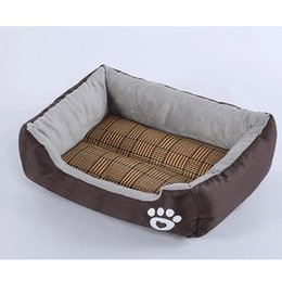$enCountryForm.capitalKeyWord Australia - Pet Dog Bed Warming Dog House Soft Material Nest Baskets Fall and summer Kennel For Cat Puppy Plus size