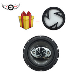 "speaker 6.5 inch NZ - Free Shipping I Key Buy Speakers 2 Pcs 6.5"" Parlantes 4 Way 400 W 4 Ohm 6.5 inch Hifi Coaxial Car Speaker Full Range Frequency"