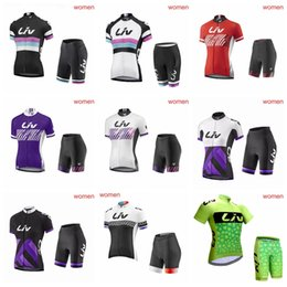 Summer Women liv MTB Bike Cycling Clothing Breathable Mountian Bicycle  Clothes Quick Dry Cycling Jersey Sets 0502LJP 657e5f7ca