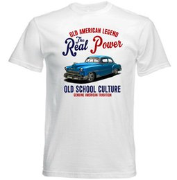 tshirt cars Australia - VINTAGE INSPIRED AMERICAN CAR CHEVROLET STYLELINE - NEW COTTON T-SHIRTFunny free shipping Unisex Casual Tshirt top