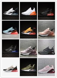 max green 2019 - New Arrival Designer 270s Cushion Off Mens Women Running Shoes 27C Triple Black White Oreo Teal Photo 270 Trainer Sports