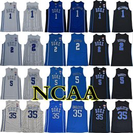 Wholesale 2018 Duke Blue Devils NCAA College Jersey Williamson Reddish Barrett Bagley III Carter Stitched