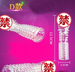 Toys Use Men Australia - Wolf tooth shape stimulate clitoris G spot condoms sex toy make penis bigger condom for men sex use