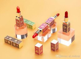 Natural Coloured Lipstick Australia - 2019 HOT NEW Colorina Pro Artist Palace Lipstick Yaguang Moisturizing Lip Colour Makeup in Ancient Chinese Style