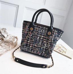 $enCountryForm.capitalKeyWord Australia - 2019 new woolen wings package autumn Korean version of the ladies handbag fashion pearl chain shoulder bag free shipping