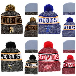 505e183ba Letter Fashion Beanies Jacquard Weave Winter Keep Warm Fan Knitted Hat  Outdoor Windbreak Ice Hockey Cap New Arrival 18wsI1