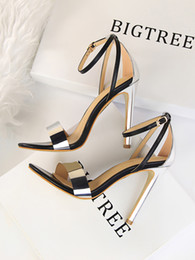 $enCountryForm.capitalKeyWord Australia - Hot Sale- heels mary jane shoes open toe heels stiletto sexy sandals party shoes for women black pumps shoes woman zapatos de mujer sandals