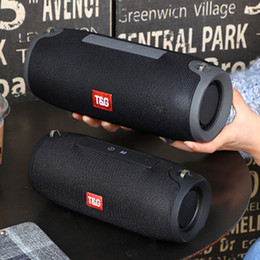 music box mp3 bluetooth Canada - TG118 40W Bluetooth Speaker High Power Portable Speaker Sound Bar for Computer Music Playe Center Boom Box Bluetooth Column FM T191128
