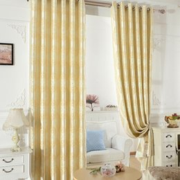 white gold curtains Australia - High Precision Jacquard Full Polyester Gold Leather Double Color Curtains for Living Dining Room Bedroom.