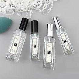 5ml vacíos de botellas rellenables Claro portable del perfume de la botella de viajeros 6.8 * 1.8cm de cristal del atomizador del aerosol del envase transparente en venta