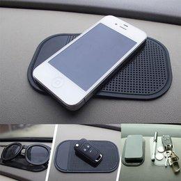 Tapis de protection collant anti-dérapant pour tableau de bord de voiture pour lunettes de téléphone Tapis protecteurs de gel collant magique Support intérieur intérieur en silicone dans l'accessoire de voiture WX9-1236