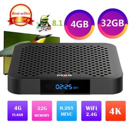 $enCountryForm.capitalKeyWord NZ - Original M9S J2 Android 8.1 RK3328 4GB DDR4 32GB eMMC 4K HDR android TV BOX 802.1.1 b g n WIFI USB3.0 Mini PC 4K 3D Media Player Set Top Box