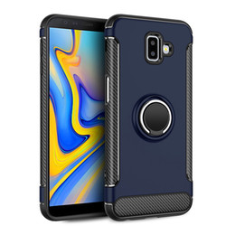 $enCountryForm.capitalKeyWord Australia - Kickstand phone case Ring car phone holder magnetic cell phone cover Case for Samsung Galaxy J6 Plus for Samsung Cover