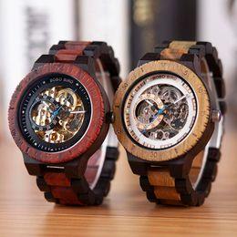 $enCountryForm.capitalKeyWord Australia - BOBO BIRD Wooden Watches Men Automatic Mechanical Wristwatch Waterproof Male forsining in Gift Wood Box masculino watch