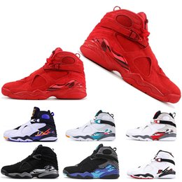 snow beach 2019 - Hot Sale 8 8s Basketball Shoes For Men Women VALENTINES DAY AQUA CHROME COUNTDOWN PACK SOUTH BEACH Mens Trainers Designe
