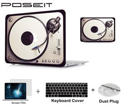 "$enCountryForm.capitalKeyWord Australia - 4in1 Plastic Hard Case Cover Laptop Shell+Keyboard Cover+Screen Film+Dust Plug For 11 12 13 15"" Macbook Air Pro Retina Touch Bar"
