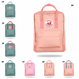 bags kid handbags 2019 - Oxford Cloth Waterproof Backpack Kid School Bag Zipper Solid Travel Bag Fashion Handbag For Woman Men 27 Colors Wholesal
