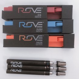 Disposable vape cartriDges online shopping - Rove Disposable Vape pens ml Ceramic Vape Cartridge Packaging Empty Carts mah Rove Vape Battery Ecig Starter Kits