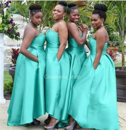 Leafy Green Bridesmaid Dresses