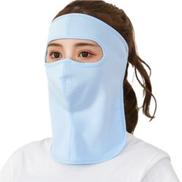Cover mouths online shopping - 2019 Summer Cyling Face Mask Driving Masks Anti UV Riding Breathable Full Face Mouth Cover UV Protection Breathable Neck Guard