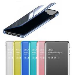 $enCountryForm.capitalKeyWord Australia - Smart Mirror Phone Case For Samsung Galaxy Note 10Plus 10 S8 S9 Plus S10 S10e S7 Edge Note 9 8 A30 A50 A70 A750 Original Flip Cover