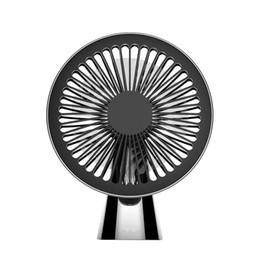 5v fans 2019 - New 5V Mini Portable Super Quiet USB Desk Table Fan Home Office Electric Air Cooler cheap 5v fans