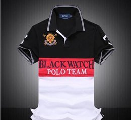 best t shirt brands men Australia - Brand Designer- PoloShirt men Short Sleeve T shir poloT-Shirts men Dropship Cheap Best Quality black watch polo team