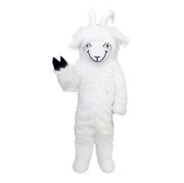 Goat costumes online shopping - 2019 Factory hot Goat Sheep Long hair Mascot Costume Cartoon Real Photo